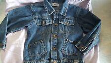 veste jeans blouson jean garcon JACADI 6 ans TBE 100 % coton