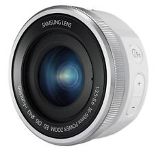 Samsung NX 16-50mm Power Zoom ED OIS Lens - White (Bulk package)