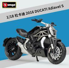 Bburago 1:18 Ducati Xdiavel S Motorcycle Bike Model Toy