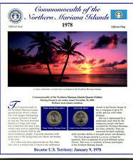 Northern Mariana Islands Quarters P&D 2009 (Postal Panel Collection) PCS
