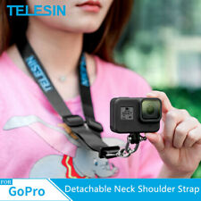 TELESIN Neck Shoulder Strap Lanyard Sling Detachable for GoPro Hero 8 7 6 5 4 3
