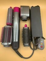 Dyson Airwrap Complete Styler for Multiple Hair Types Styles,Fuchsia 4 Attchment