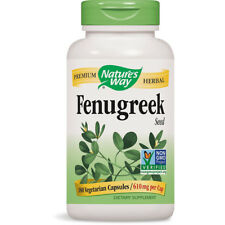 NATURES WAY - Fenugreek Seed 610 mg Natural Dietary Supplement - 180 Capsules