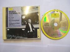 FURTWÄNGLER/ SIBELIUS/STRAUSS/RAVEL En Saga/Till Eulenspiegel/Daphnis 1989 CD