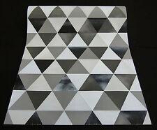 """13267-30) Design Vliestapete """"Graphics Alive"""" grau und schwarz mit Glanzeffekt"""