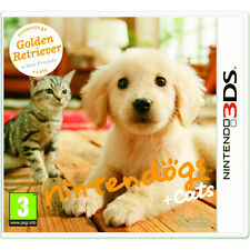 Nintendogs + cats: golden retriever & new friends Nintendo 3DS game