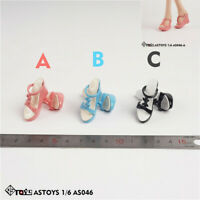 ASTOYS AS046 1/6 Female Sandals Slippers High-heeled Shoes Model Fit 12'' Figure