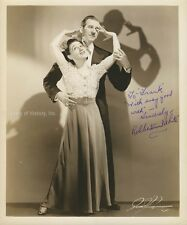 ROBBERTS AND WHITE - INSCRIBED PHOTOGRAPH SIGNED