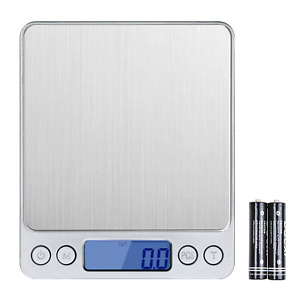 Wellehomi 500g x 0.01g Digital Pocket Scales,0.0010.01goz High-precision Scale,