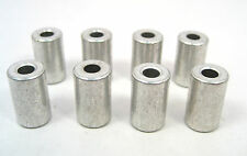 """Brass No Threads Spacers/Standoffs, #8 x5/8"""" Long, 3/8""""OD : 8/Lot: HH Smith 8747"""