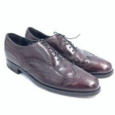 Florsheim Mens Harvard Wingtip Cordovan Brogues Burgundy Lace Up Shoes 30353 9 C