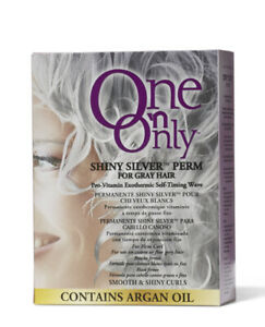 Shiny Silver Exothermic Perm For Gray Or Resistant Hair Types Non Yellowing NIB