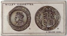 Coin Edges Are Milled To Make It Harder To Shave 90+  Y/O Ad Trade Card