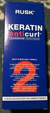 Rusk Keratin Anticurl Curl Remover For Highlighted or High Lift Tinted Hair