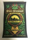 GREEN ON GREENWOOD 2019 Cannabis Expo Poster 11 x 17  RARE Only Available Here