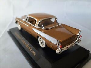1/43  o scale Yat-ming road signature 94254 1958 Studebaker Golden Hawk