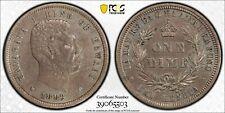 1883 Hawaii 10 Cents PCGS AU Details Lot#G995 Silver!