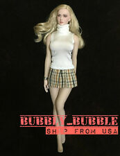 "1/6 Women Sleeveless Dress For 12"" Hot Toys Phicen Female Figure SHIP FROM USA"