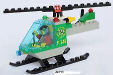 Lego 6425 City Town TV Chopper complet à 100 % de 1999
