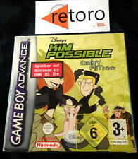 KIM POSSIBLE POSIBLE MONKEY FIST Game Boy  GBA GAMEBOY ADVANCE PAL en Español