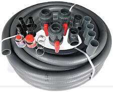 Bypass Set 50 mm für Wärmepumpen Bypassventil Pool flexibler Poolflex Schlauch