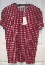 Tory Burch Women Linen Jersey Short Sleeve T Shirt Top S Pink SONDA