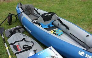 Sevylor Adventure Inflatable kayak Canoe 2 person