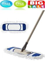 Dust Mop, Microfiber Mops for Floor Cleaning, with Extendable Adjustable (Blue)