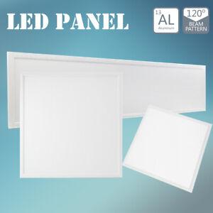 LED Panel 120x30cm 30x30cm Deckenlampe Panellampe Einbauleuchte [Pro +20% Lumen]