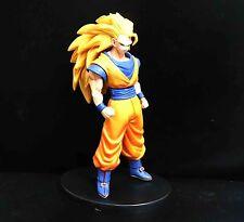"Banpresto DragonBall Z BZD SS3 GOKU Statue figure 8"" LOOSE #SE3"