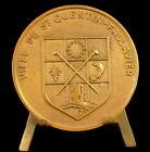 Medaille Ville de Saint-Quentin-Fallavier blason emblème armes 60 mm medal