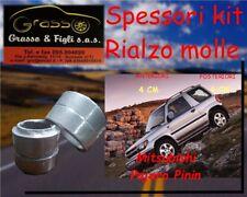 Kit Spessori Molle Rialzo SPACER SPRING PAJERO PININ  4CM Avanti Dietro ant smal