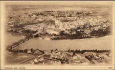 Saskatoon Saskatchewan Birdseye ViewPostal Card - Postage Printed on Back