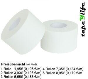 Sport Tape 3,8 cm x 10m - WEIß   Sports Tape   Tapes   Tape   Tapen   Pflaster