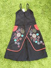 NEU - Damen TrägerKleid Ethno Hippie Boho Kleid Fairtrade Lagenlook Gr. S 36
