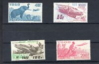 Togo; Air Post. 4 stamps. 1947. (SG 181-184). MM.