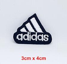 Adidas Original Logo Abzeichen Ausschnitt Klein Eisen Aufnäher Bestickt Aufnäher