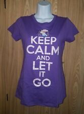 Keep Calm and Let It Go Frozen Shirt Children's Extra Large XL Disney
