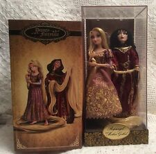Rapunzel & Mother Gothel Doll Set Disney Fairytale Designer Collection LE #2515