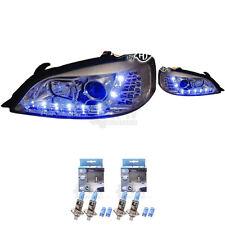 Scheinwerfer Set Opel Astra G Bj. 97-04 LED klarglas/chrom