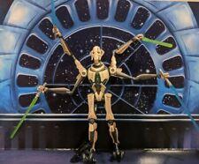Star Wars ROTS  Four Lightsaber Attack General Grievous Figure Loose