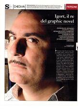 SP2 Clipping-Ritaglio 2007 Igor Tuveri Igort il re del graphic novel