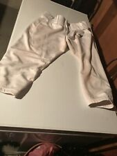 Decker White Softball Pants Size Yourh Xl