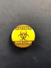 Caution Biohazard Pin