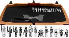 13in1 Star Wars Family Skywalker Darth Vader Leia Car Laptop Vinyl Sticker Decal