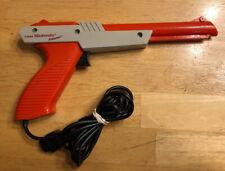 Vintage 1985 Original Nintendo NES Orange Zapper Gun Controller DuckHunt NES-005