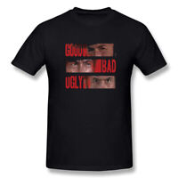Fashion The Good, The Bad and The Ugly Legendary Movie Men's T-Shirt Black