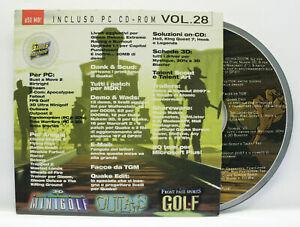 THE GAMES MACHINE CD ROM VOL. 28 ALLEGATO TGM N. 98 PC AMIGA CD ED. XENIA 75672