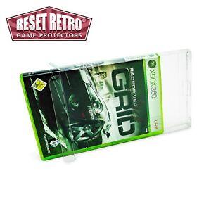 100 x Klarsicht Schutzhüllen für X-Box Classic   X-Box 360 Spiele in OVP 0,3mm