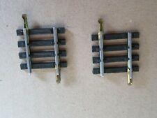 827M Jouef 475/8 Ho Lot 2 Rails Droit Traverse 29 mm